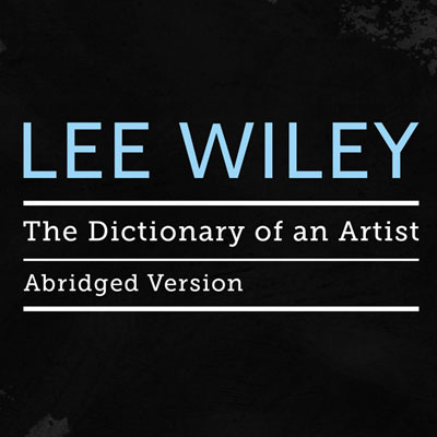 Dictionary of an Artist