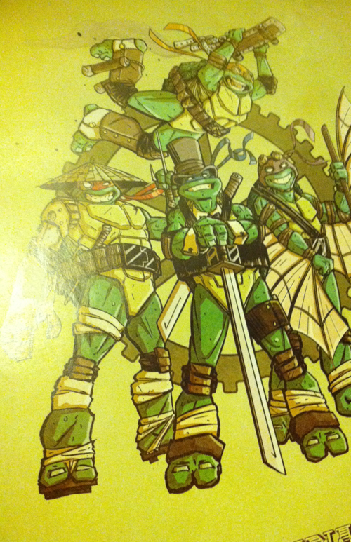 Steampunk Ninja Turtles snapshot